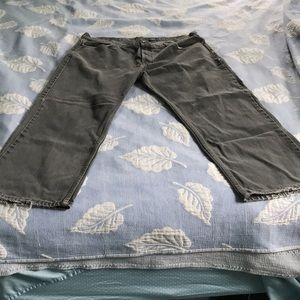 Men's jeans 39 x 28 gray Faded Glory